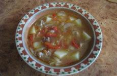 Суп-гуляш «Венгерский»
