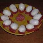 Фаршированные перепелиные яйца