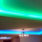 Неоновое освещение в домашнем интерьере