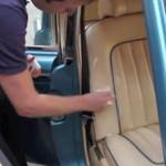 очистить сидения автомобиля