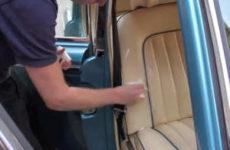 Как очистить сидения автомобиля без повреждений