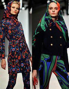 Модные платки сезона осень-зима 2013-2014