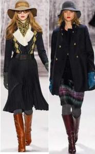 Модные шляпки сезона осень-зима 2013-2014