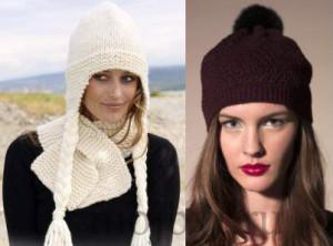Модные женские шапки сезона осень-зима 2013-2014
