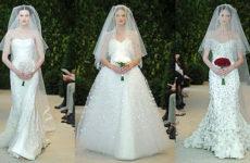 Модные свадебные платья в сезоне осень-зима 2013/2014