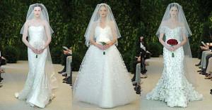 Свадебные платья Carolina Herrera