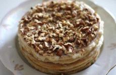 Блинный торт «Двойное наслаждение»