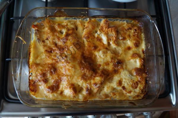 Сёмга с сыром в духовке