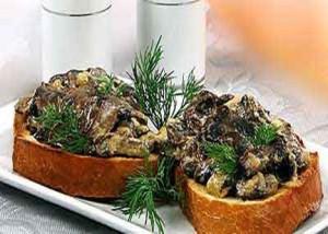 Хлебные тарелочки с овощами