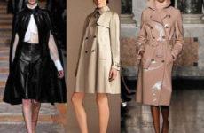 Модные женские плащи 2013-2014