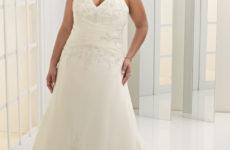 Как выбрать свадебное платье для пышной фигуры