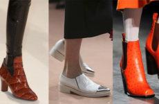 Какая обувь в моде осенью 2014 года? Ответим!