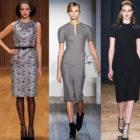Какие платья в моде осенью 2014/зимой 2015? Ответим!