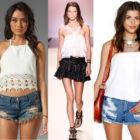 Модные топы и майки весна-лето 2015