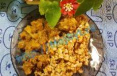 Говядина с грибной подливой за 20 минут